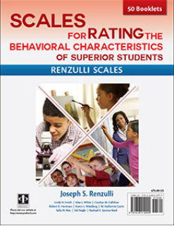 ScalesforRatingtheBehavioralCharacteristicsofSuperiorStudents